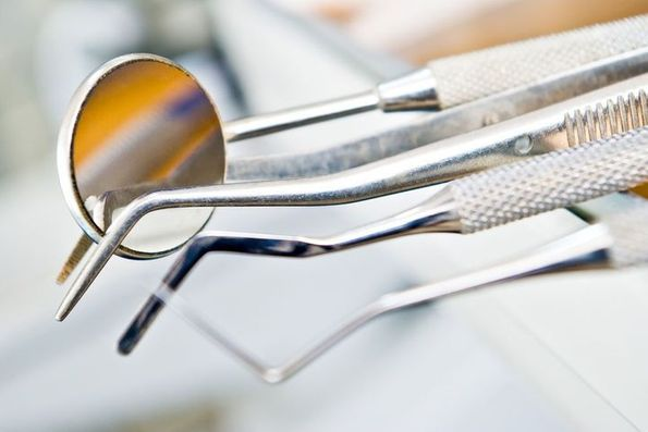 Dentistry instruments representing the tools used by orthodontist Byrd Adkins D.D.S. Smile Company in Amarillo, TX